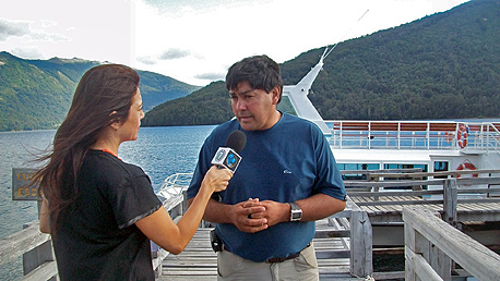 Se realiz fam press a las comunidades mapuche sobre el for Viveros en neuquen