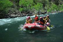 Rafting en el Río Alumime