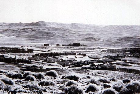 Foto histórica de Junín de los Andes